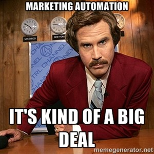 Marketing Automation is kind of a Big Deal.