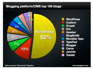 Most Popular Blogs and CMS