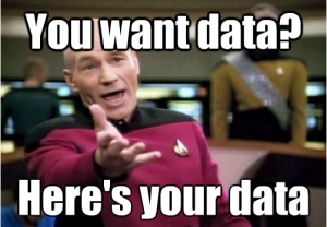 Here's your Data!